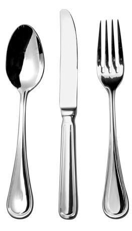 Juego de 12 tenedor cuchillo cuchara acero inoxidable 18 for Ofertas tenedor