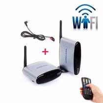 Transmissor De Vídeo Wireless Receptor Tv S/ Fio 2,4ghz