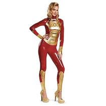 Disfraz De Iron Man Traje Mujer Adulto Avengers