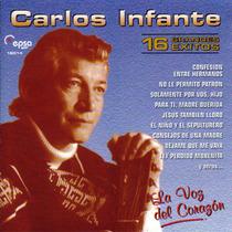 Cd Carlos Infante 16 Grandes Exitos Open Music