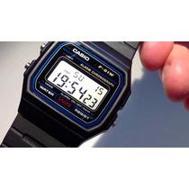Reloj Casio F91w. Original En Caja Retro/vintage/digital