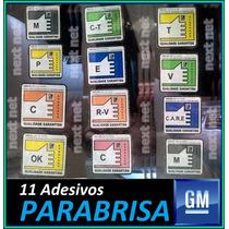 Gm Kit Adesivo Selos Qualidade Parabrisa Chevrolet Opala Ome