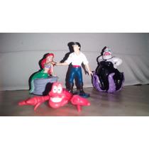 La Princesa Sirenita Coleccion De Figuritas Disney