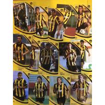Peñarol Tarjetas Stickers, 81 Al 100, 33 Al 42, 2011 12 C24