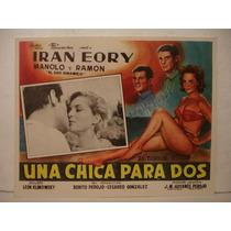 Iran Eory , Una Chica Para Dos , Cartel De Cine