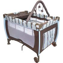 Berço Desmontável Baby Style Plus 663510 - Chocolate