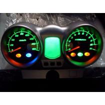 Painel Cbx250 Twister Leds Alto Brilho 3g Verde Completo