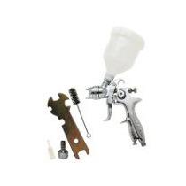 Pistola Hvlp Mini De Graveda Marca Byp 150 Ml Presion 45 A 6