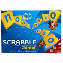 Juego De Mesa Scrabble Junior Para Niños De Mattel Games