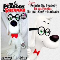Peluche Mr. Peabody 54cm Diferentes Facetas Disponible