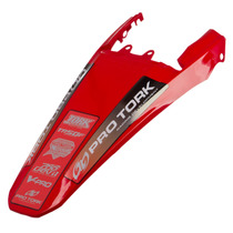 Paralama Para Lama Rabeta Xr 250 Tornado Vermelho Pro Tork