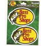 Calcomanias Bass Pro Shops