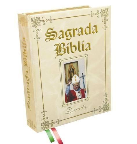 Pablo Matrimonio Biblia : Sagrada biblia dorada edicion juan pablo ll letra grange