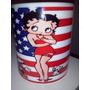 Taza Betty Boop Bandera Americana