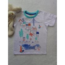 Camiseta Meia Malha Estamp. Infantil Menino Have Fun Hf0031