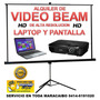 Alquiler De Video Beam Hd Y Lapto (maracaibo)
