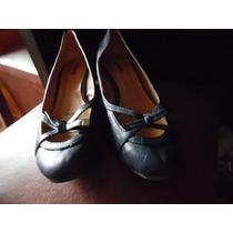 Zapatos De Vestir Taco Dama Color Azul Número 39