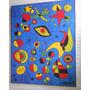 Cuadros Joan Miro Canvas De Algodon Con Bastidor Para Colgar