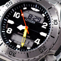 Relógio Citizen Aqualand Aquamount C900 Jp3040-59e Aço Inox