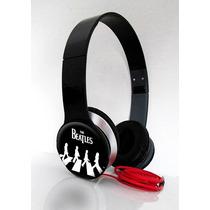 Fone Headphone Rock The Beatles P/ Smartphone, Celulares