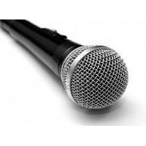 Micrófono Prof. Pc Home Notebook Karaoke Fiestas Dj Eventos