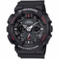 Relógio Casio G-shock Ga-120-1adr Nota E Garantia