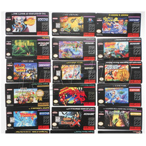 Pack Etiquetas Labels Nes, Snes, N64, Atari, Gameboy, Sega