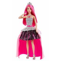 Barbie Princesa Campamento Pop Rock 2 En 1 Canta 2 Melodias