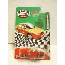 Taxi Mania Taxi Mediano Nuevo Df Rojo/amarillo 1:64