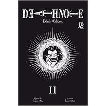 Mangá Death Note Black Edition Vol 2 - Jbc - Novo, Lacrado.