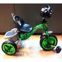 Triciclo Infantil Tubular De Aço Com Pneus Para Manobras