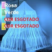 Mosquiteiro Casal King Box Queen Renda _ Italian