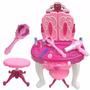 Tocador Peinador Magico Infantil Para Princesas Mp3 71,5 Cm