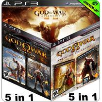 God Of War Trilogia - Total De 5 Jogos - Ps3 Psn - Gamesgo