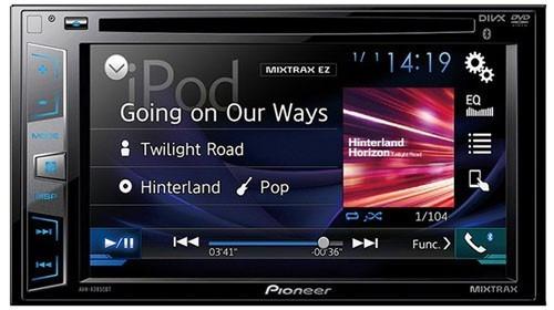 Autoestéreo Pantalla Pioneer Avh-285bt Bluetooth Iphone 6 - $ 4,699.00 en Mercado Libre