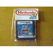Variedad Juegos Nintendo Ds Dsi 3ds ~$150 Brain Age Contac