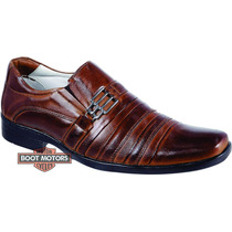 Sapato Antistress De Pelica Confortavel Couro De Cabra 010