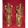Tallado Chino En Madera Antiguo Eculturas De Sacerdotes Ming