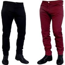 Pantalones Gabardina Chupin Colores Jeans710