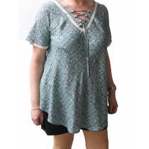 Camisola Con Tiras Cruzadas Mujer Todos Los Talles Mythos