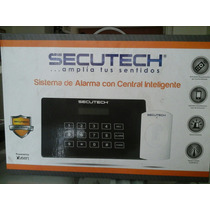 Sistema De Alarma Con Central Inteligente Secutech