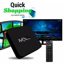 Smart Tv Box Android Tv Desbloqueia Canal Pago Claro Sky