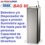 Dispensador Bebedero Agua Fria Y Natural De Pedestal Bag 80