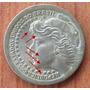 Moneda Brasil 1965 50 Cruzeiros Error Die Crack Scarface