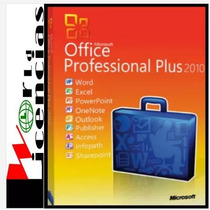 Licencia Office Professional Pro Plus 2010