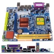 Placa Mãe G31qcel2 775 Esonic Desktop Nova !!! Completa