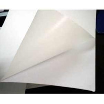 Papel Para Calcomonias Adhesivo Alto Brillo 20 Hojas Carta