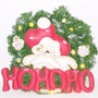Corona Navidad Noel Pared Regalo Adorno Puerta Santa Clauss