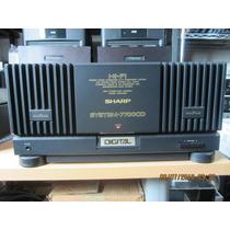 Amplificador Sharp 7700cd No Sansui Kenwood Pioneer Spec Nad