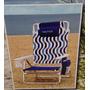 Cadeira De Praia Nautica Com Bolsa Térmica